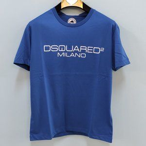 Dsquared2 Milano Navy Blue NWT Men Tshirt